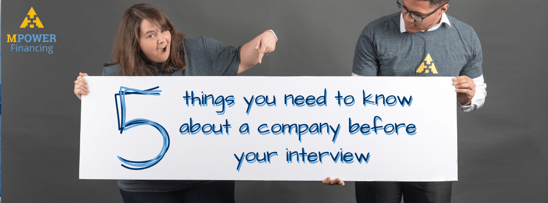 5 Things You Should Know About a Company Before your Interview